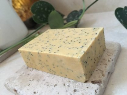 Lemon & Poppy Seed Handmade Soap